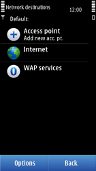 Nokia N8-00 - Internet - Manual configuration - Step 7