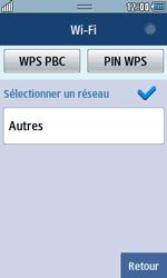 Samsung Wave 723 - Internet et connexion - Accéder au réseau Wi-Fi - Étape 6