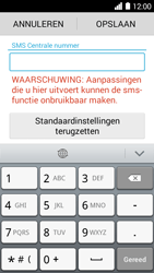 Huawei Ascend Y530 - SMS - SMS-centrale instellen - Stap 6
