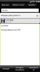 HTC Z710e Sensation - E-mail - envoyer un e-mail - Étape 10