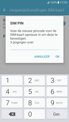 Samsung Galaxy S7 - Beveiliging en ouderlijk toezicht - Pincode simkaart wijzigen - Stap 10
