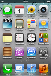 Apple iPhone 4 S - Internet - Disable data roaming - Step 1