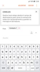 Samsung Galaxy S7 - Android Nougat - E-mail - Escribir y enviar un correo electrónico - Paso 9