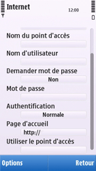 Nokia C5-03 - Internet - configuration manuelle - Étape 15