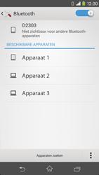 Sony Xperia M2 4G (D2303) - Bluetooth - Aanzetten - Stap 5
