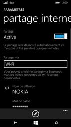 Nokia Lumia 735 - Internet et connexion - Partager votre connexion en Wi-Fi - Étape 9