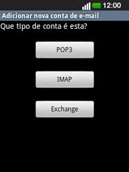 LG E400 - Email - Configurar a conta de Email -  10