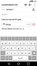LG X Power - E-mail - Hoe te versturen - Stap 17