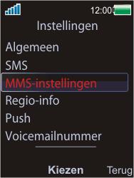 Sony Ericsson W595 - MMS - probleem met ontvangen - Stap 7