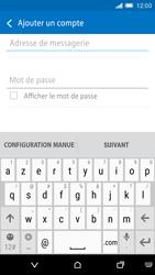HTC One M9 - E-mail - Configuration manuelle - Étape 6