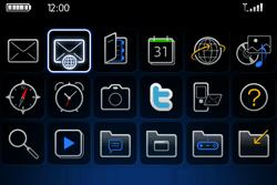 BlackBerry 9000 Bold - E-mail - Envoi d