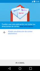 LG K10 4G - E-mail - Configurar Gmail - Paso 6