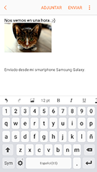 Samsung Galaxy A3 (2017) (A320) - E-mail - Escribir y enviar un correo electrónico - Paso 16
