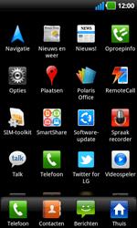 LG P970 Optimus Black - Buitenland - Bellen, sms en internet - Stap 4