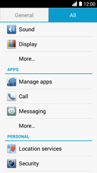 Huawei Ascend Y530 - Voicemail - Manual configuration - Step 3