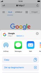Apple iphone-se-met-ios-13-model-a1723 - Internet - Hoe te internetten - Stap 16