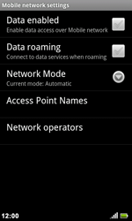 Acer Liquid Metal S120 - Internet - Enable or disable - Step 6