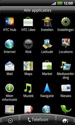 HTC A7272 Desire Z - Internet - Internetten - Stap 2