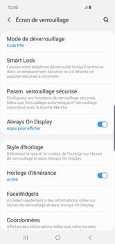 Samsung Galaxy S10 Plus - Sécurité - activéz le code PIN de l'appareil - Étape 13