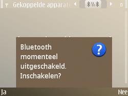 Nokia E72 - Bluetooth - headset, carkit verbinding - Stap 7