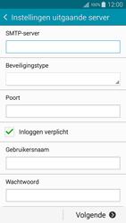 Samsung A500FU Galaxy A5 - E-mail - Handmatig instellen - Stap 13