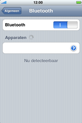 Apple iPhone 4 - Bluetooth - headset, carkit verbinding - Stap 6
