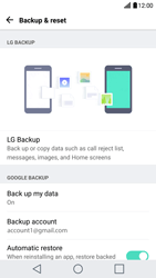 LG G5 - Device maintenance - Create a backup of your data - Step 8