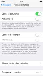 Apple iPhone 6 iOS 8 - Aller plus loin - Désactiver les données à l'étranger - Étape 5