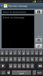 Samsung Galaxy S3 4G - Contact, Appels, SMS/MMS - Envoyer un SMS - Étape 5