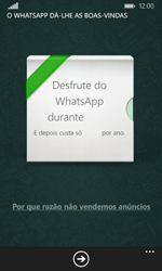Microsoft Lumia 435 - Aplicações - Como configurar o WhatsApp -  10