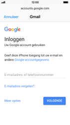 Apple iPhone SE - iOS 11 - E-mail - handmatig instellen (gmail) - Stap 6