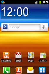 Samsung S5690 Galaxy Xcover - MMS - automatisch instellen - Stap 3