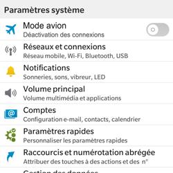 BlackBerry Classic - E-mail - Configuration manuelle - Étape 4