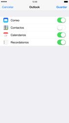 Apple iPhone 6 Plus iOS 8 - E-mail - Configurar Outlook.com - Paso 8