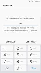 Samsung Galaxy S7 Edge - Android Nougat - Segurança - Como ativar o código de bloqueio do ecrã -  8