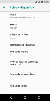 Motorola Moto E5 - Primeiros passos - Como encontrar o número de IMEI do seu aparelho - Etapa 6
