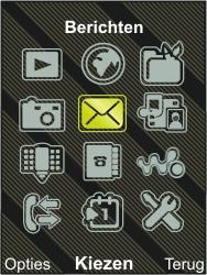 Sony Ericsson W995 - E-mail - hoe te versturen - Stap 3