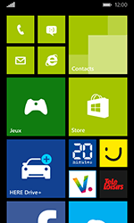 Nokia Lumia 635 - Applications - Supprimer une application - Étape 1