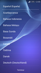 Sony D2203 Xperia E3 - Primeros pasos - Activar el equipo - Paso 3