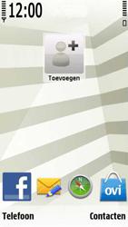 Nokia 5230 - E-mail - handmatig instellen - Stap 1