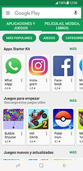 Samsung Galaxy S8 - Aplicaciones - Descargar aplicaciones - Paso 4
