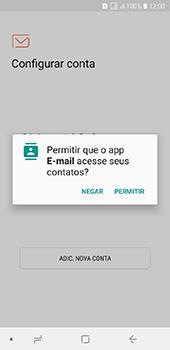 Samsung Galaxy J6 - Email - Como configurar seu celular para receber e enviar e-mails - Etapa 5