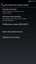 Acer Liquid S1 - Internet - Activer ou désactiver - Étape 7