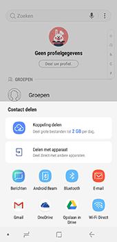 Samsung galaxy-j6-sm-j600fn-ds - Contacten en data - Contacten overzetten via Bluetooth - Stap 8