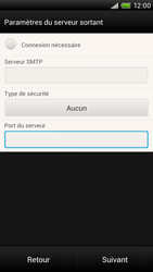 HTC S728e One X Plus - E-mail - Configuration manuelle - Étape 14