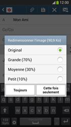Samsung C105 Galaxy S IV Zoom LTE - E-mail - envoyer un e-mail - Étape 14