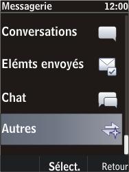 Nokia C2-05 - SMS - Configuration manuelle - Étape 4