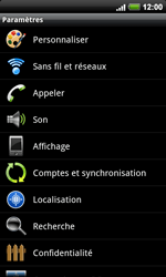 HTC A9191 Desire HD - Messagerie vocale - configuration manuelle - Étape 5