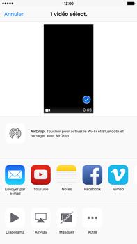 Apple iPhone 6s Plus - Photos, vidéos, musique - Créer une vidéo - Étape 9
