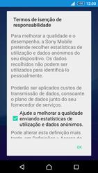 Sony Xperia Z3 Plus - Primeiros passos - Como ligar o telemóvel pela primeira vez -  18